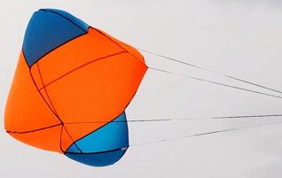 High Altitude Balloon Parachutes