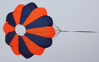 Rocketman Elliptical Parachutes