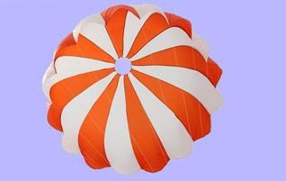 Apollo 11 NASA Parachutes