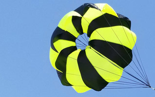 Rocketman High Performance CD 2.2 Parachutes