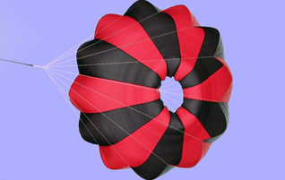 Rocketman Ultra Light High Performance CD 2.2 Parachutes