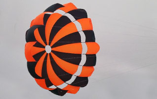Disk Gap Band Parachutes
