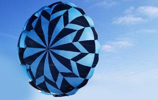 Rocketman Rotating Star Parachute
