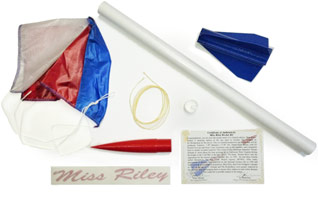 ¼ Scale Limited Edition Miss Riley Rocket Kit